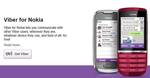 Download Viber For Symbian Phones V - Social & Messaging - Mobile Fun
